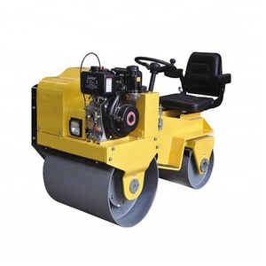 Mini road roller compactor single and double drum vibratory compactor static road roller SYW-19