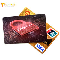 Hot Sale RFID Blocking Card, RFID scan Blocking Card, Anti Skimming Blocker
