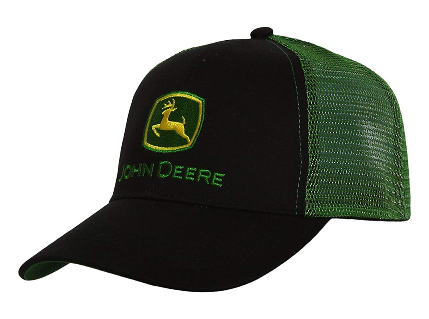 John Deere Adjustable Trucker Hat - Green/Black