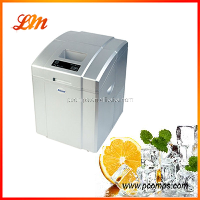 220v Portable Ice Maker/0.9kgs Ice Basket Capacity/One Circle 6 --15 Minutes/Two Colour For Your Choice