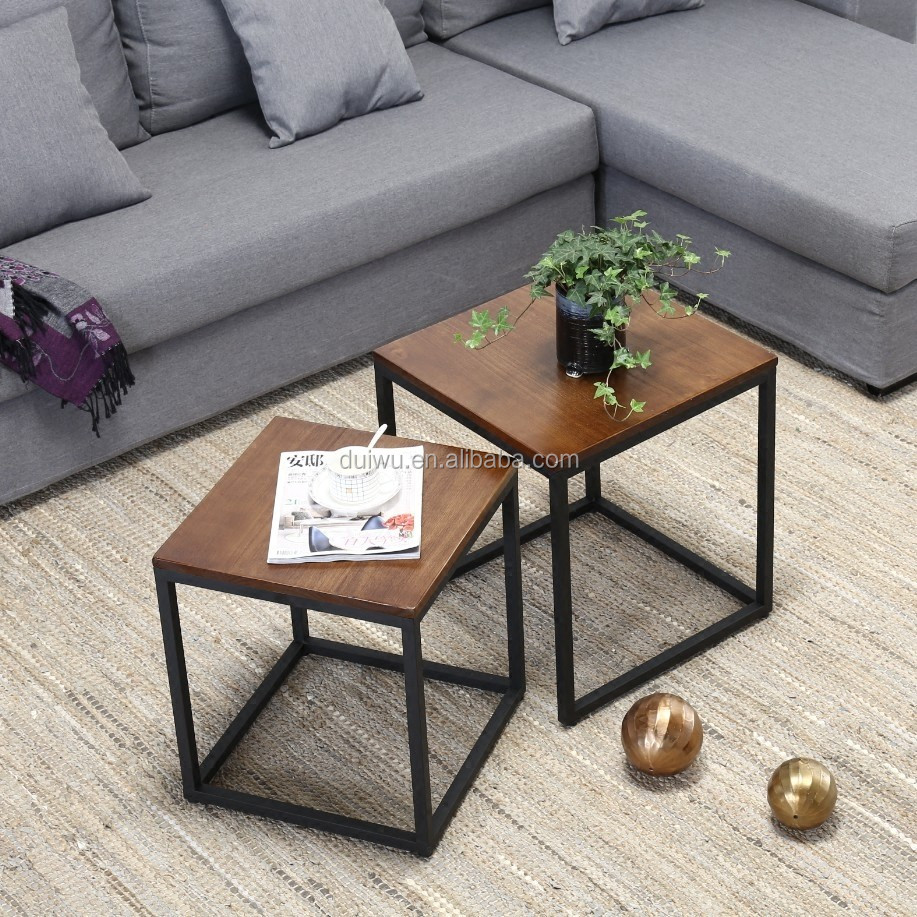 Personnalise Lit Table De Chevet En Bois De Cadre En Metal Canape
