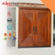 Solid Wooden Fire Rated Main Safety Door Design With BM TRADA