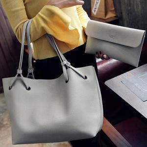 390666aee1f0 cz18047b Luxury handbags women bags designer brand famous pu 2 pcs clutch  tote bag composite bag