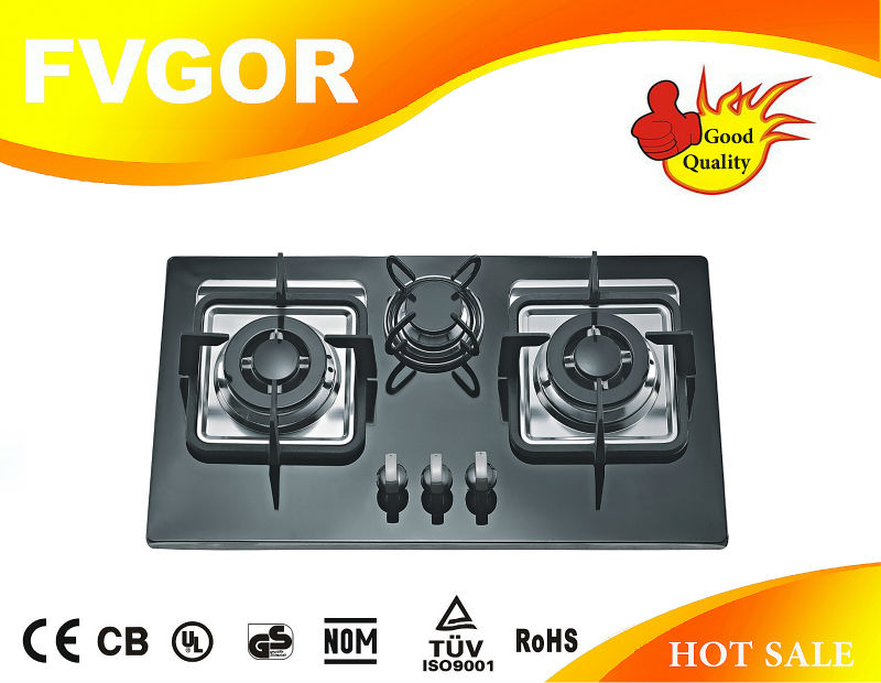 best price 3 burners gas hob gas stove panel