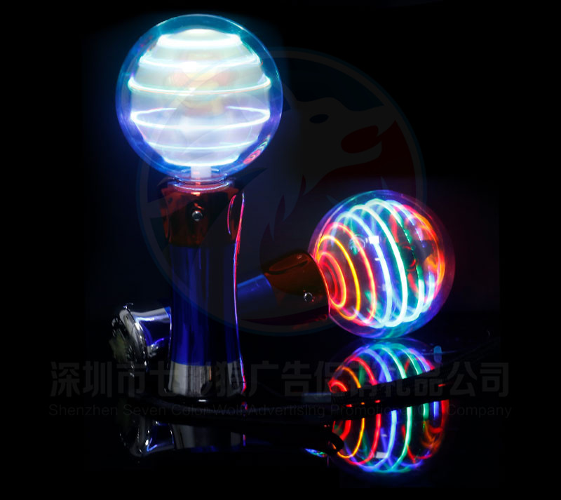 Party Lights Ball Shaped LED Glow  Toy for Kids Amusement Park LED Light Magic Spinning Ball Stick for Halloween Party  Favors