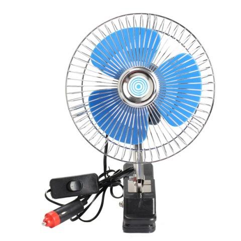 Бесплатная доставка 12 В портативный автомобиль авто автомобилей колеблющийся вентилятор авто вентилятор вентилятор охлаждения # клин