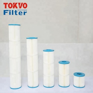 Antibacterial filter reused after washing swimming pool spa types of reusable water filter cartridge
