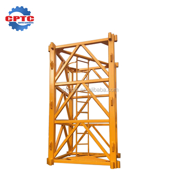 Good Price Zoomlion Tower Crane Parts Mast Section For Sale