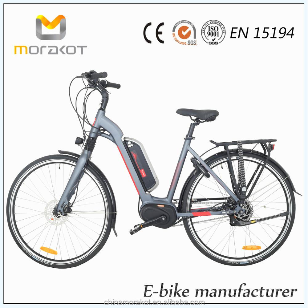 8fun Mid Drive Motor 250W 36V 10.4AH City E Bike/ Wheeled Sports Motor Bike Electric Bicycle