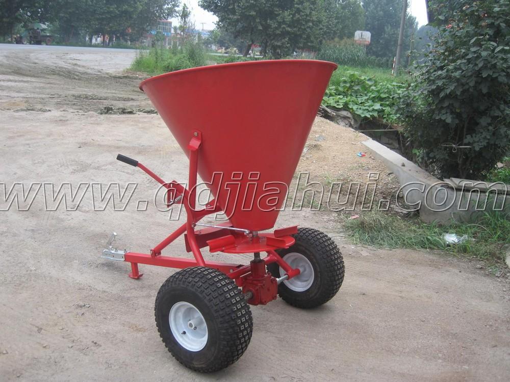 650lbs Tow Behind Atv Fertilizer Spreader