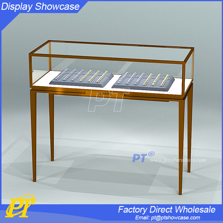 New design display showcase for jewelry store