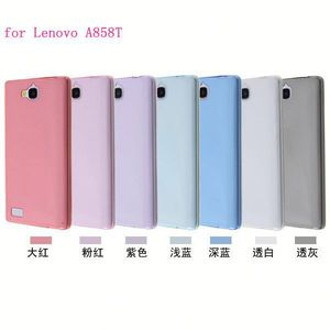Transparent slim tpu cell phone case protector for Lenovo A858T ultra toughness cover case