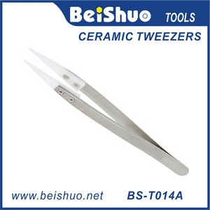 Ceramic Tweezers DIY Rebuilding Upgraded Version New Package SS with Replaceable Tips Wire Coiling Tool for RBA RDA
