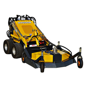 China HYSOON diesel engine 26hp mini skid steer loader