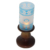 Home goods crystal candle holder tall crystal candle holder cylinder candle holder