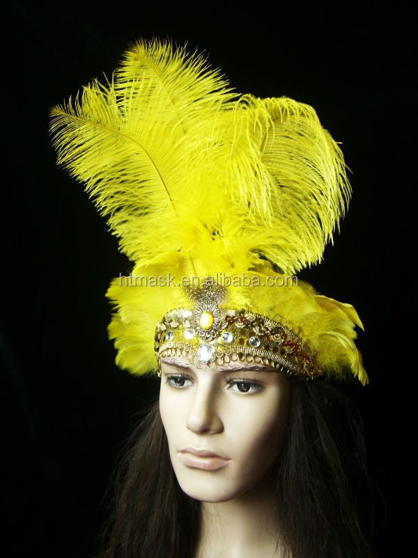 Beautiful Stylish Feather Headdress Crown