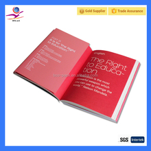 OEM and ODM hard cover book printing service