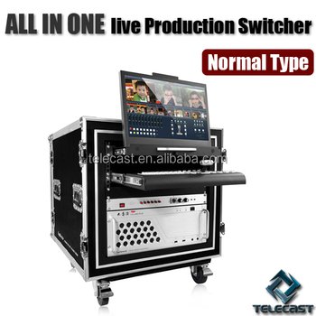 High quality Live Production Switcher, Virtual Studio