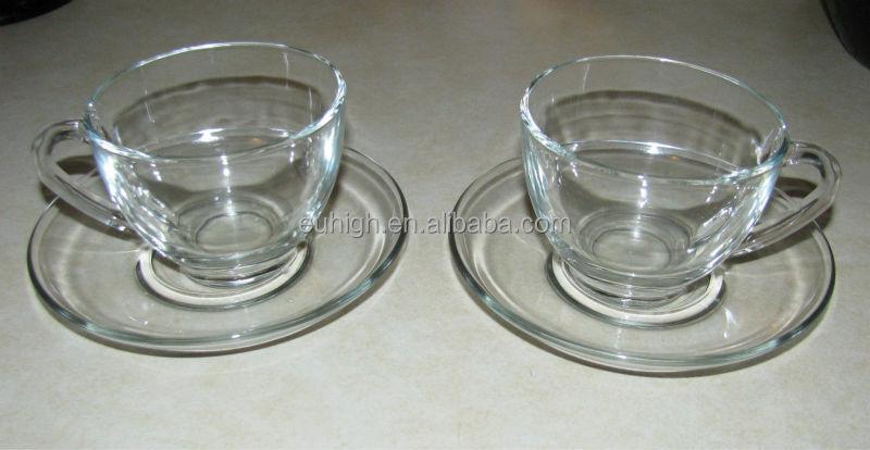Arcoroc France Tea Coffee Glass Cups And Saucers - Buy France Tea Glass And  Saucer,Coffee Cup And Saucer Set,Tea Cup And Saucer Product on Alibaba com