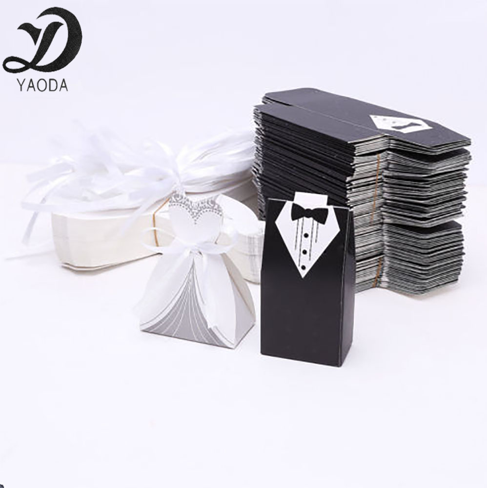 Bride And Groom Wedding Favour Boxes, Bride And Groom Wedding Favour ...