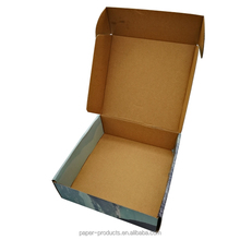 2015 hot product custom black paper packing boxes cartons made in China