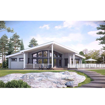 Fashionable Cheap Prefab Homes marketable prefabricated wooden villa for sale