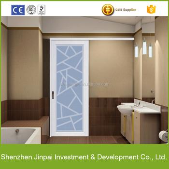 China Price Aluminum Profile Sliding Door Screen Design Sheet Picture For Bathroom