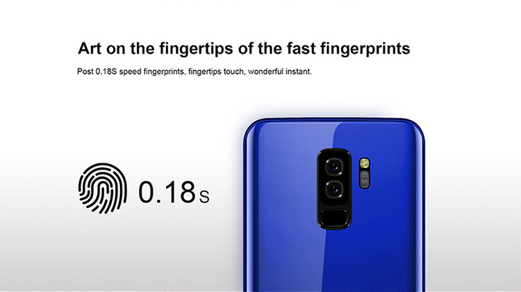Fast fingerprint lock 3000mAh latest Android 8.1 unlock cheapest china mobile phone in india