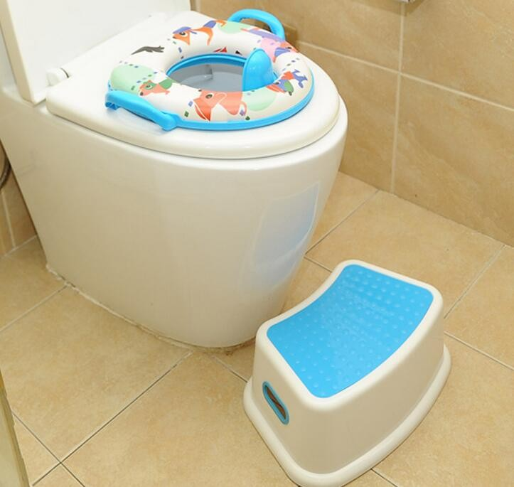 Kids plastic step stool bathroom/toilet anti-slip cartoonstep stool baby steakable step stool & Kids Plastic Step Stool Bathroom/toilet Anti-slip Cartoonstep ... islam-shia.org