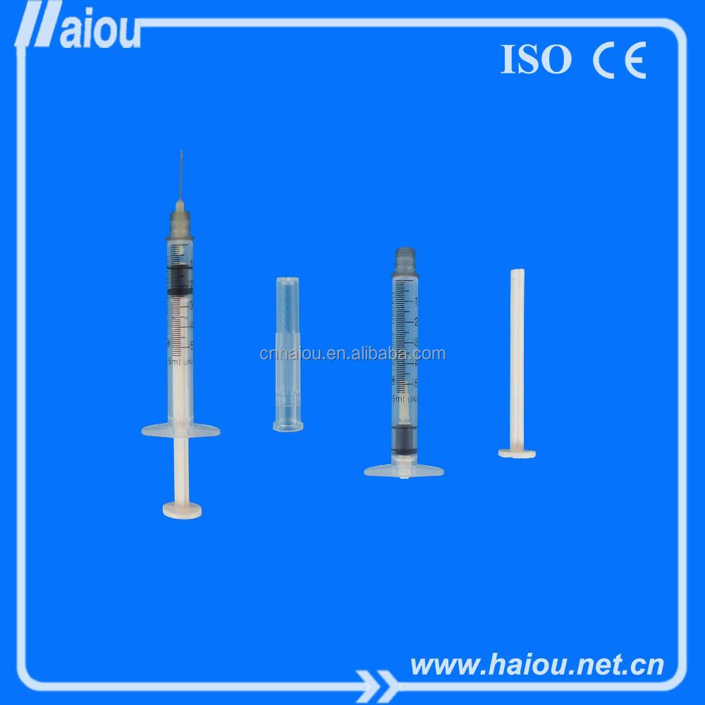 Eo Steriled Medical Auto Disable Syringe(ad Syringe) 0.5ml