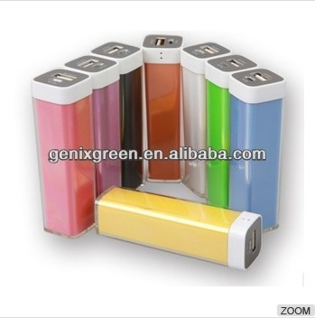 hot selling plastic cover portable mobile power bank charger