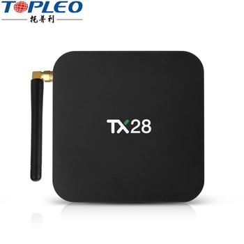 Tx28 Smart Unlock Android7 1 Ott Tv Box Rockchip Rk3328 Firmware With  External Wifi Antenna - Buy Tx28 Smart Box,Unlock Android Tv Box,Ott Tv Box