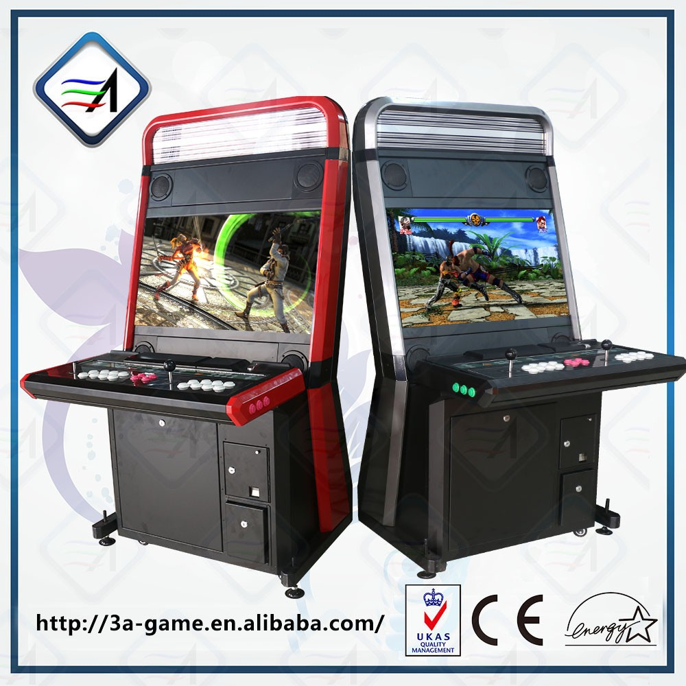 Factory Empty Arcade Cabinet For Tekken TT2 PS3 Game And Pandorau0027s Box 4 Game  Console Cabinet
