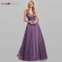 Женское платье для выпускного бала, длинное платье в полоску с треугольным вырезом, EP07898LV, 2020(Китай)