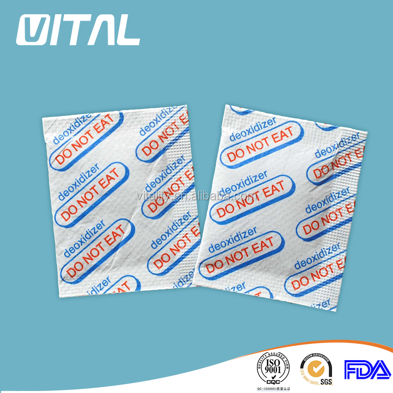 Whole sale food grade agent 200cc oxygen absorber for box package food