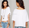 blank cotton t shirt for lady, white plain short sleeve cotton t-shirts, lady tshirts garments wholesale