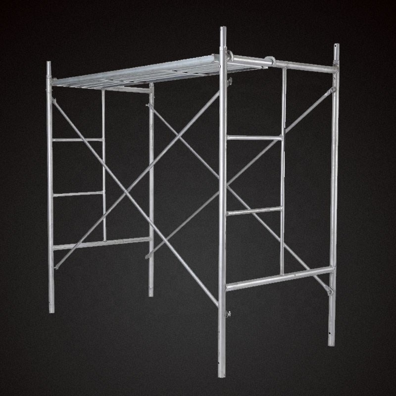 Mobile double coupler load capacity frame steel scaffolding
