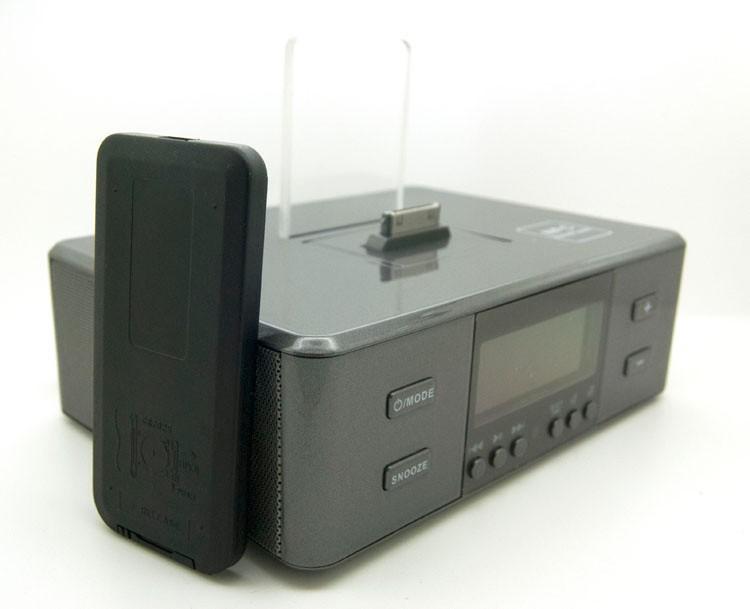 fm radiowecker bluetooth lautsprecher aufladen docking station f r iphone und samsung alle. Black Bedroom Furniture Sets. Home Design Ideas