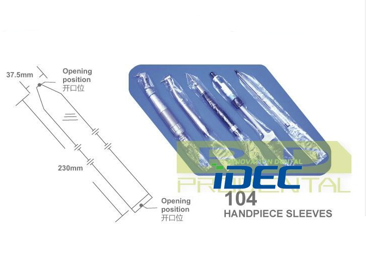 Dental Handpiece Sleeves Plastic Disposable Protective
