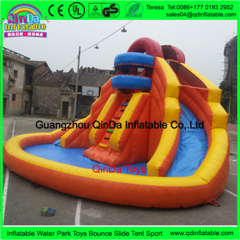 Giant Swimming Pool Tube Slide Marble Pool Inflatable Water Slide For Kids  Entertainment - Buy Swimming Pool Tube Slide,Marble Pool,Entertainment ...