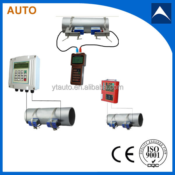 The heat measurement ultrasonic flow meter for electric factory