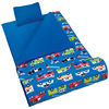 Printed blue color customized indoor children sleeping bag