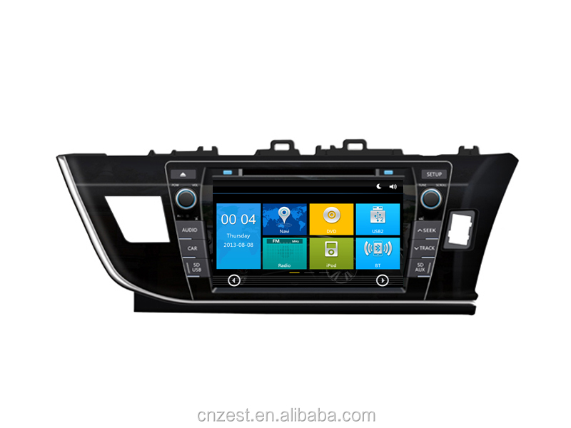 most popular Car gps radio For TOYOTA COROLLA Car gps radio surpport OEM/ODM