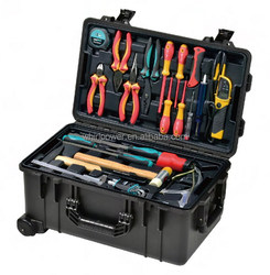 Tool Trolley Case Set, with VDE tools