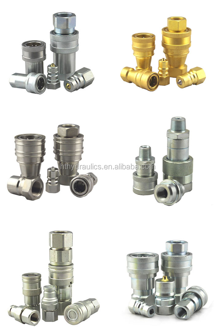Carbon Steel Stainless Steel Braided Hydraulic Hose Pipe Fitting