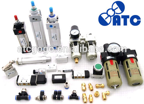 "GOGO air cylinder pauses in the middle 5 way 3 position pneumatic control foot valve plastic foot valve Rc1/4"" pedal foot valve"