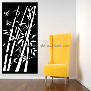 Bamboo Pattern Wall Art For Home Decoration - Buy Bamboo Pattern ...