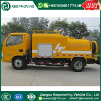 4x2 Dongfeng 3CBM Sewer Cleaning Truck