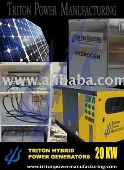10kw Electric Generator With Hydrogen On Demand Fuel Supply