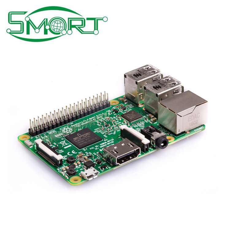 Smart Electronics Raspberry Pi 3 WIFI +bluetooth CPU1.2 G 1 G memory Raspberry Pi 3 module